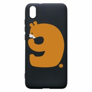 Phone case for Xiaomi Redmi 7A Figure bear for 9 years