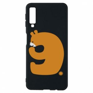 Phone case for Samsung A7 2018 Figure bear for 9 years