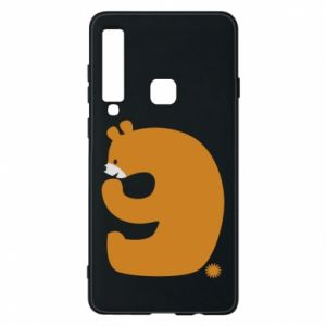 Phone case for Samsung A9 2018 Figure bear for 9 years