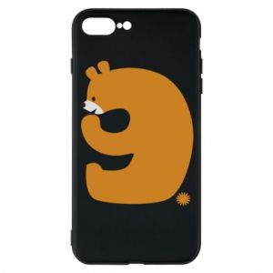Phone case for iPhone 7 Plus Figure bear for 9 years