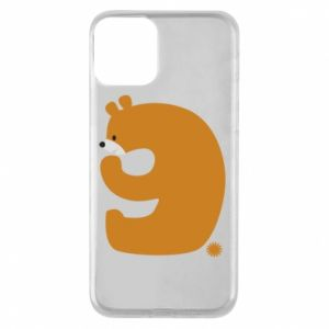Phone case for iPhone 11 Figure bear for 9 years