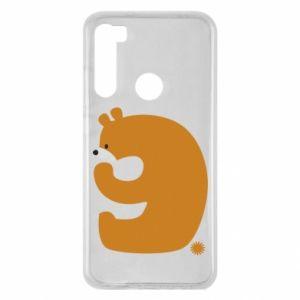Etui na Xiaomi Redmi Note 8 Rysunek niedźwiedź przez 9 lat
