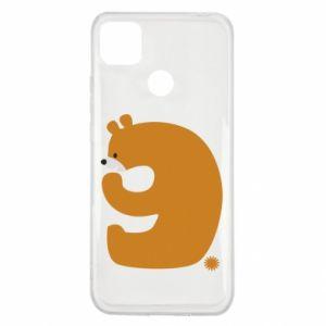 Etui na Xiaomi Redmi 9c Rysunek niedźwiedź przez 9 lat
