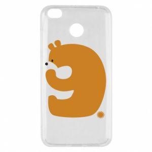 Etui na Xiaomi Redmi 4X Rysunek niedźwiedź przez 9 lat