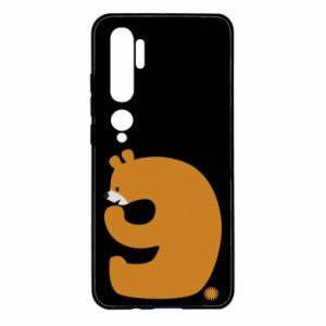 Etui na Xiaomi Mi Note 10 Rysunek niedźwiedź przez 9 lat