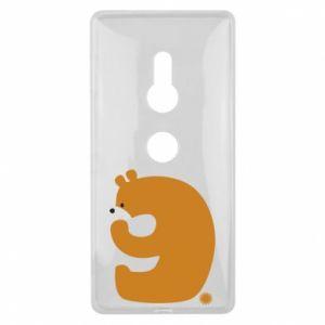 Etui na Sony Xperia XZ2 Rysunek niedźwiedź przez 9 lat