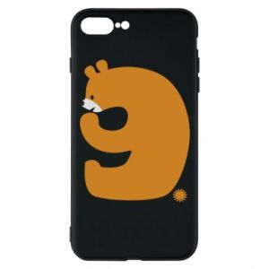 Phone case for iPhone 8 Plus Figure bear for 9 years