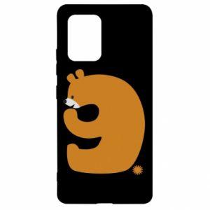 Etui na Samsung S10 Lite Rysunek niedźwiedź przez 9 lat