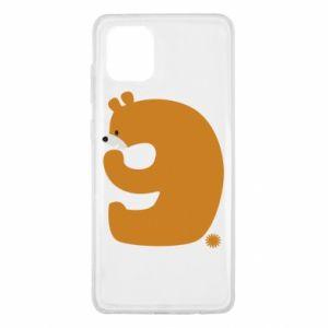 Etui na Samsung Note 10 Lite Rysunek niedźwiedź przez 9 lat