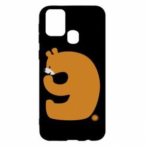 Etui na Samsung M31 Rysunek niedźwiedź przez 9 lat