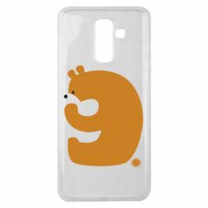 Etui na Samsung J8 2018 Rysunek niedźwiedź przez 9 lat