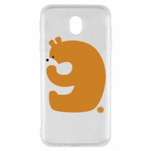 Etui na Samsung J7 2017 Rysunek niedźwiedź przez 9 lat