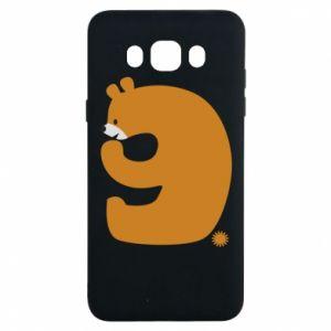 Etui na Samsung J7 2016 Rysunek niedźwiedź przez 9 lat