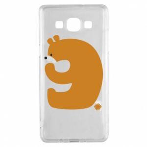 Etui na Samsung A5 2015 Rysunek niedźwiedź przez 9 lat