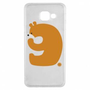Etui na Samsung A3 2016 Rysunek niedźwiedź przez 9 lat