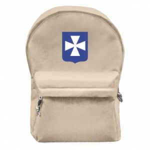 Backpack with front pocket Rzeszow coat of arms
