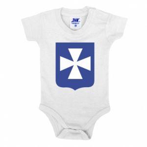 Baby bodysuit Rzeszow coat of arms