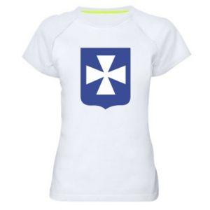 Women's sports t-shirt Rzeszow coat of arms