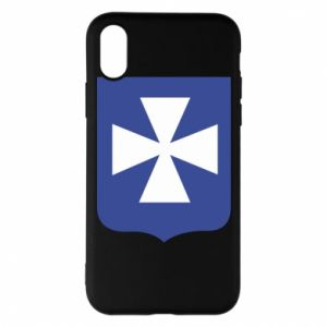 Phone case for iPhone X/Xs Rzeszow coat of arms