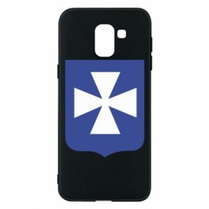 Phone case for Samsung J6 Rzeszow coat of arms
