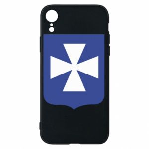 Phone case for iPhone XR Rzeszow coat of arms