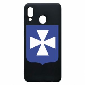 Phone case for Samsung A20 Rzeszow coat of arms
