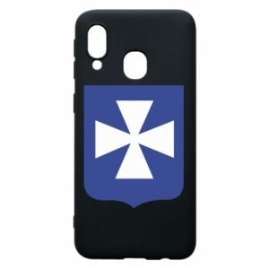 Phone case for Samsung A40 Rzeszow coat of arms