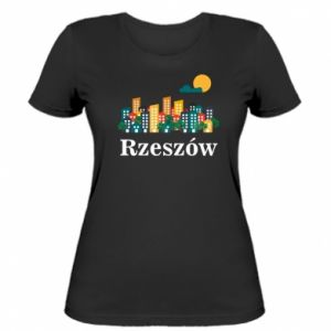 Women's t-shirt Rzeszow city