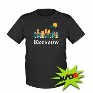 Kids T-shirt Rzeszow city