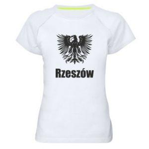Damska koszulka sportowa Rzeszów