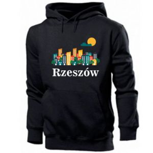 Męska bluza z kapturem Miasto Rzeszów - PrintSalon