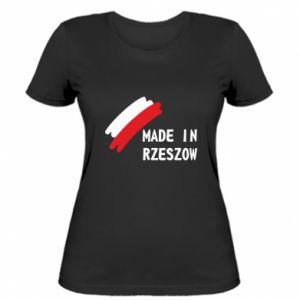 Women's t-shirt Made in Rzeszow