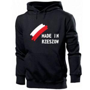Męska bluza z kapturem Made in Rzeszow - PrintSalon