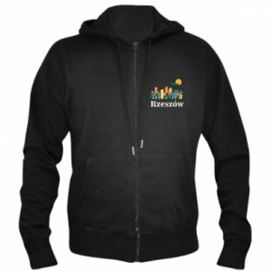 Men's zip up hoodie Rzeszow city