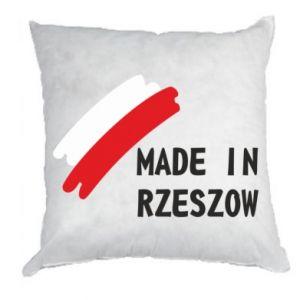 Poduszka Made in Rzeszow - PrintSalon