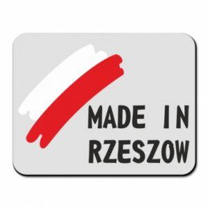 Podkładka pod mysz Made in Rzeszow - PrintSalon