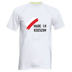 Men's sports t-shirt Made in Rzeszow