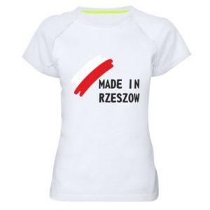 Women's sports t-shirt Made in Rzeszow