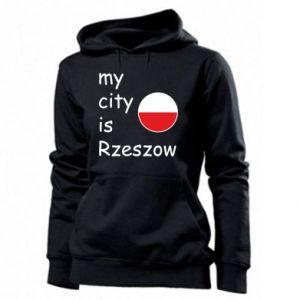 Women's hoodies My city is Rzeszow