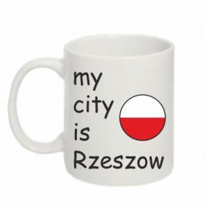 Mug 330ml My city is Rzeszow