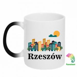 Chameleon mugs Rzeszow city
