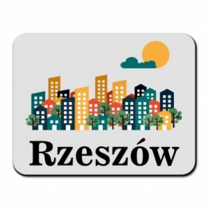Mouse pad Rzeszow city
