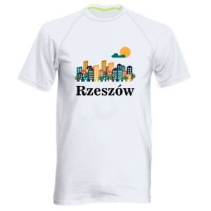 Men's sports t-shirt Rzeszow city