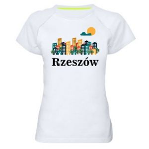 Women's sports t-shirt Rzeszow city