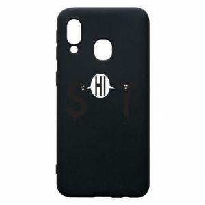 Samsung A40 Case S hi T