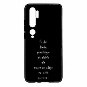 Etui na Xiaomi Mi Note 10 Są dni kiedy poszłabym do diabła...