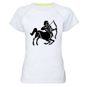Women's sports t-shirt Sagittarius