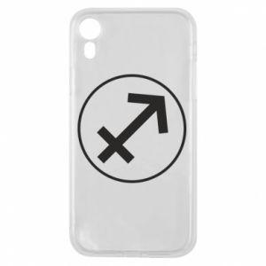 Phone case for iPhone XR Sagittarius