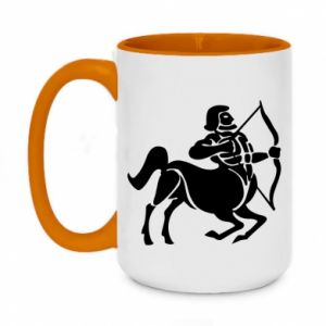 Two-toned mug 450ml Sagittarius