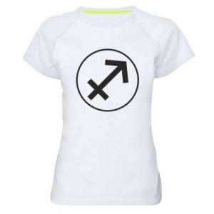 Women's sports t-shirt Sagittarius